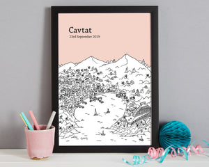 Personalised Cavtat Print-7