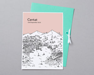Personalised Cavtat Print-6