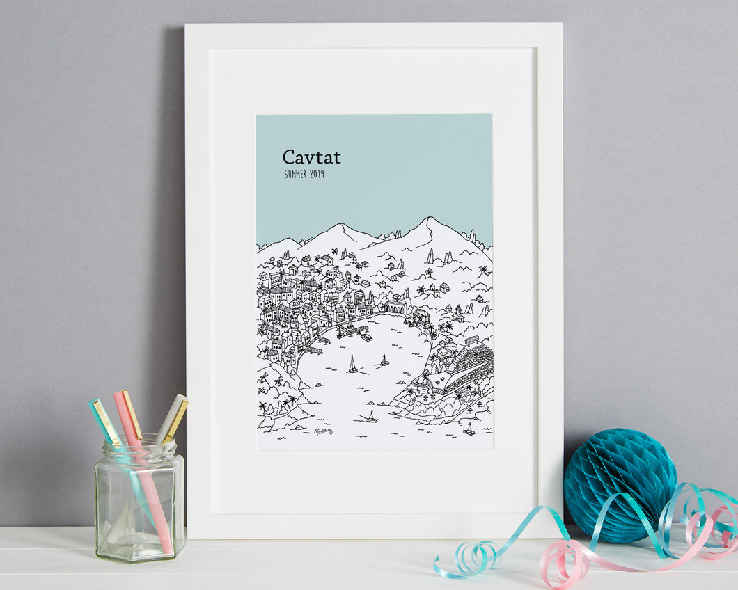 Personalised Cavtat Print-1