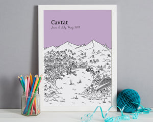Personalised Cavtat Print-4
