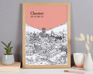 Personalised Chester Print