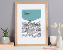 Load image into Gallery viewer, Personalised Chester Print