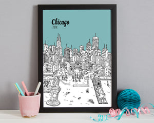 Personalised Chicago Print-3