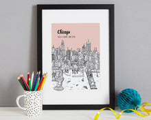 Load image into Gallery viewer, Personalised Chicago Print-4