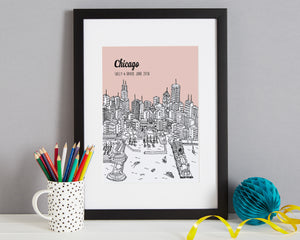 Personalised Chicago Print-4