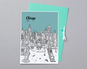Personalised Chicago Print-5