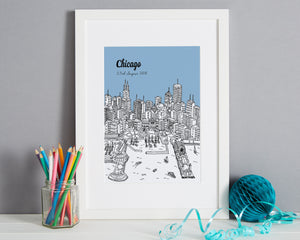 Personalised Chicago Print-7