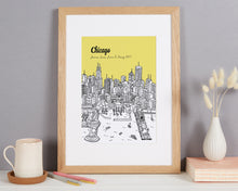 Load image into Gallery viewer, Personalised Chicago Print
