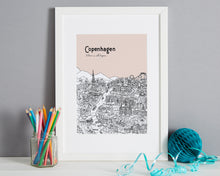 Load image into Gallery viewer, Personalised Copenhagen Print-1