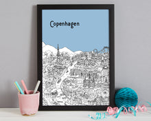 Load image into Gallery viewer, Personalised Copenhagen Print-7