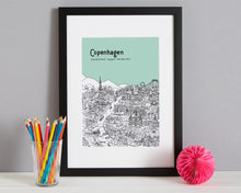 Load image into Gallery viewer, Personalised Copenhagen Print-5