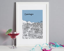 Load image into Gallery viewer, Personalised Copenhagen Print-4