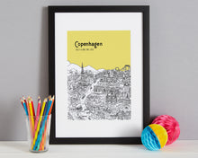 Load image into Gallery viewer, Personalised Copenhagen Print-8