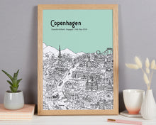 Load image into Gallery viewer, Personalised Copenhagen Print