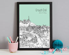 Load image into Gallery viewer, Personalised Crouch End Print-3