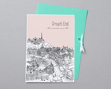 Load image into Gallery viewer, Personalised Crouch End Print-5