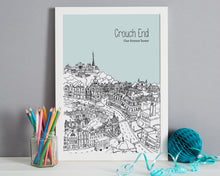 Load image into Gallery viewer, Personalised Crouch End Print-7