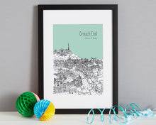 Load image into Gallery viewer, Personalised Crouch End Print-4