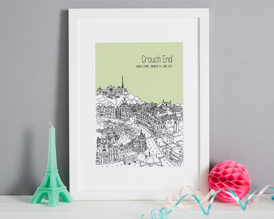 Personalised Crouch End Print-1
