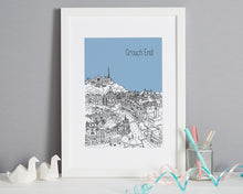 Load image into Gallery viewer, Personalised Crouch End Print-6