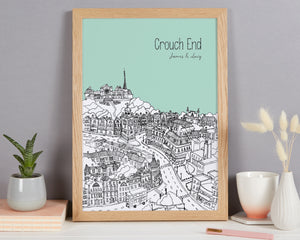 Personalised Crouch End Print
