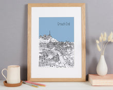 Load image into Gallery viewer, Personalised Crouch End Print
