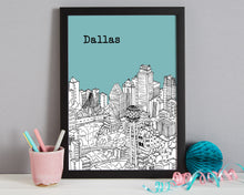 Load image into Gallery viewer, Personalised Dallas Print-5