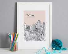 Load image into Gallery viewer, Personalised Dallas Print-3