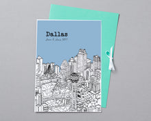 Load image into Gallery viewer, Personalised Dallas Print-7