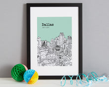 Load image into Gallery viewer, Personalised Dallas Print-6