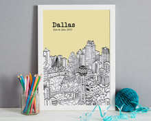 Load image into Gallery viewer, Personalised Dallas Print-4