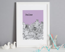 Load image into Gallery viewer, Personalised Dallas Print-1