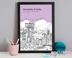 Personalised Derby Graduation Gift
