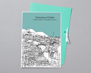 Personalised Dublin Graduation Gift