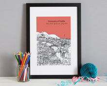 Load image into Gallery viewer, Personalised Dublin Graduation Gift