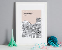Load image into Gallery viewer, Personalised Edinburgh Print-1