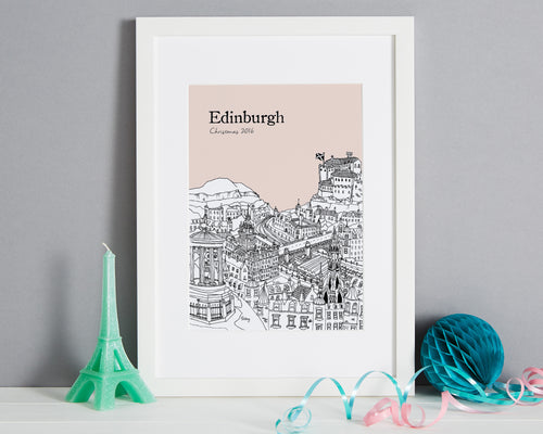 Personalised Edinburgh Print-1
