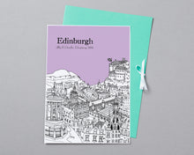 Load image into Gallery viewer, Personalised Edinburgh Print-5