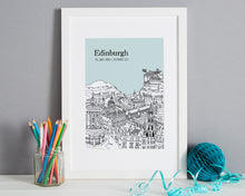 Load image into Gallery viewer, Personalised Edinburgh Print-7