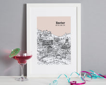 Load image into Gallery viewer, Personalised Exeter Print-6
