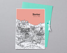 Load image into Gallery viewer, Personalised Exeter Print-3