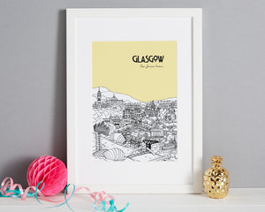 Personalised Glasgow Print-4