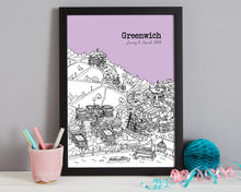 Load image into Gallery viewer, Personalised Greenwich Print-7