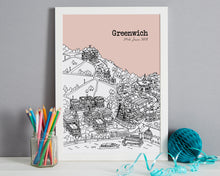 Load image into Gallery viewer, Personalised Greenwich Print-5