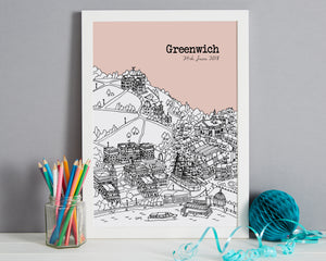 Personalised Greenwich Print-5