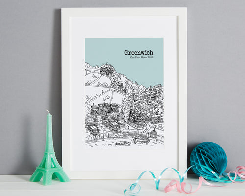 Personalised Greenwich Print-1