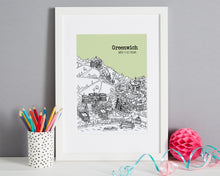 Load image into Gallery viewer, Personalised Greenwich Print-6