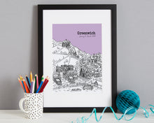 Load image into Gallery viewer, Personalised Greenwich Print-4