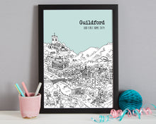Load image into Gallery viewer, Personalised Guildford Print-6