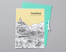 Load image into Gallery viewer, Personalised Guildford Print-4
